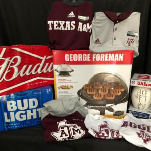Shirts, Beer and a george foreman grill