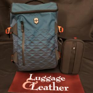 Luggage Leather Backpack