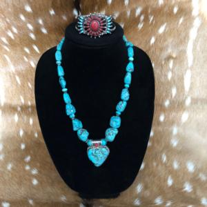 Turquoise and Amber Jewelry